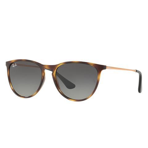 Izzy Unisex Sunglasses Lentes: Gris, Montura: Bronce