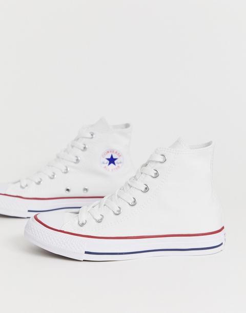 Zapatillas Abotinadas En Blanco Chuck Taylor All Star De Converse de ASOS en 21 Buttons