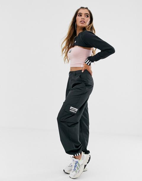 Pantalones Cargo Negros Ryv De Adidas Originals