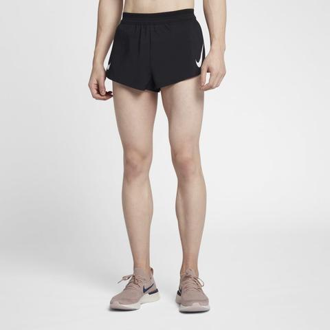 Nike Aeroswift Pantalón Corto De Running De 5 Cm - Hombre - Negro de Nike en 21 Buttons