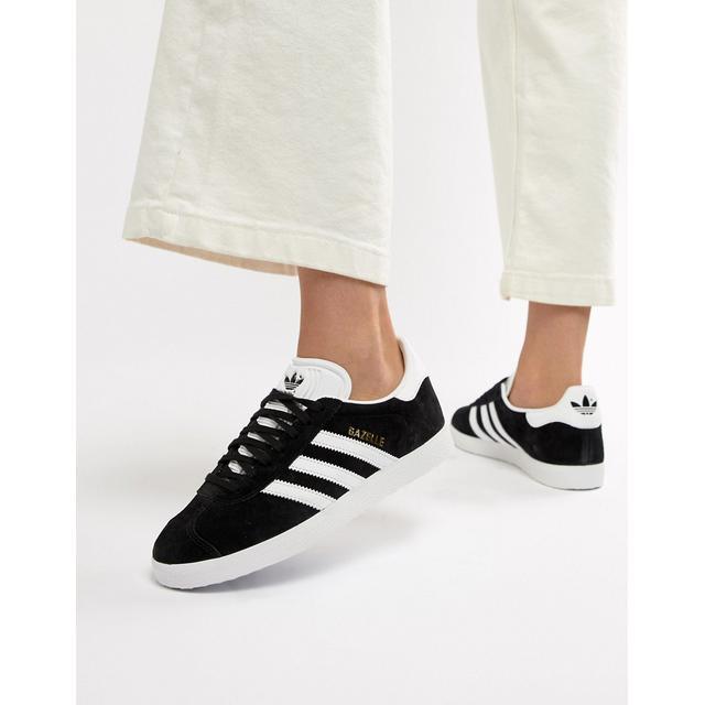 mínimo valor sentido  Adidas Originals - Gazelle - Baskets - Noir from ASOS on 21 Buttons