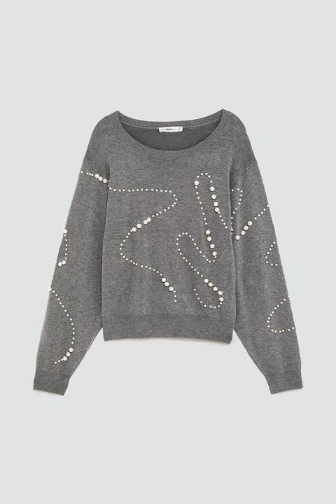 comprare popolare 2bafc e46c5 Maglia Perle from Zara on 21 Buttons