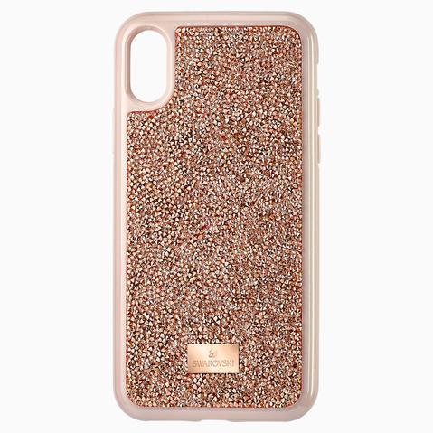 Funda Para Smartphone Glam Rock, Iphone® X/xs, Oro Rosa de Swarovski en 21 Buttons