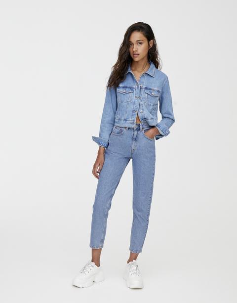 Jeans Mom Básicos