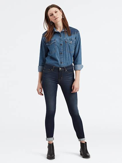 711™ Skinny Jeans Negro / High Roller de Levi's en 21 Buttons