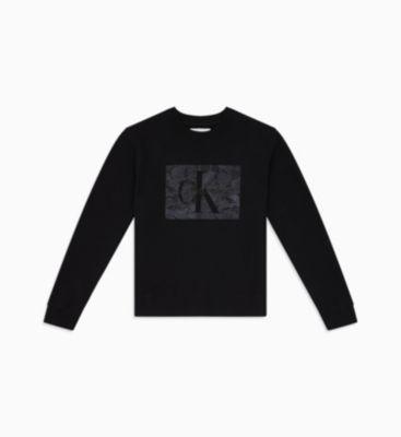 Sweatshirt Mit Spitzen-logo from Calvin Klein on 21 Buttons
