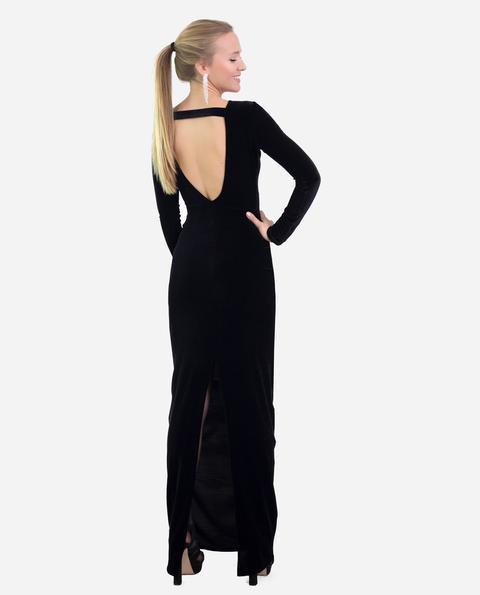 Vestido Glam · Negro