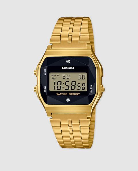 Casio - Reloj De Hombre De Collection A159wged-1ef Dorado de El Corte Ingles en 21 Buttons