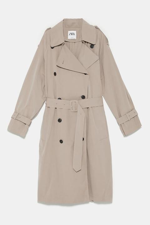 Wasserabweisender Trenchcoat Mit Knöpfen from Zara on 21 Buttons