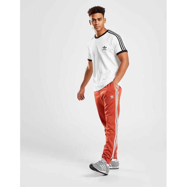 adidas survetement orange