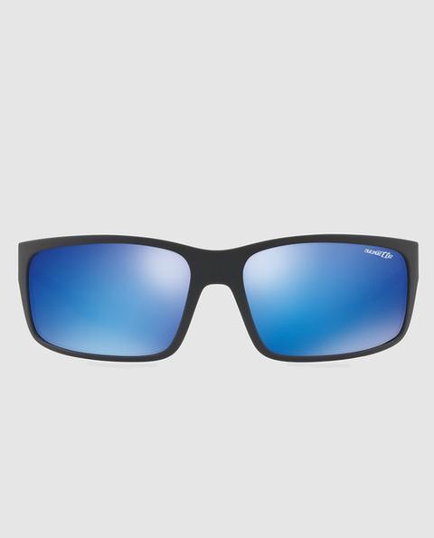 Arnette - Gafas De Sol De Hombre Rectangulares Con Lentes Espejadas Azules de El Corte Ingles en 21 Buttons