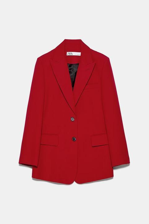 Blazer Bolsillos Solapa de Zara en 21 Buttons