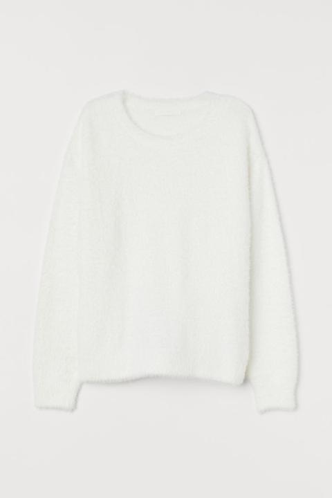 Jersey Peludo - Blanco