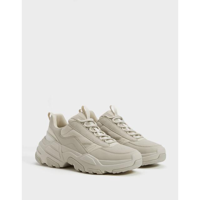 Sneakers Da Uomo Multielementi A Tinta