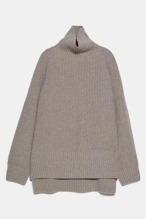 Jersey 100% Lana de Zara en 21 Buttons
