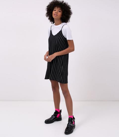 Vestido Slip Dress Listrado from Renner on 21 Buttons