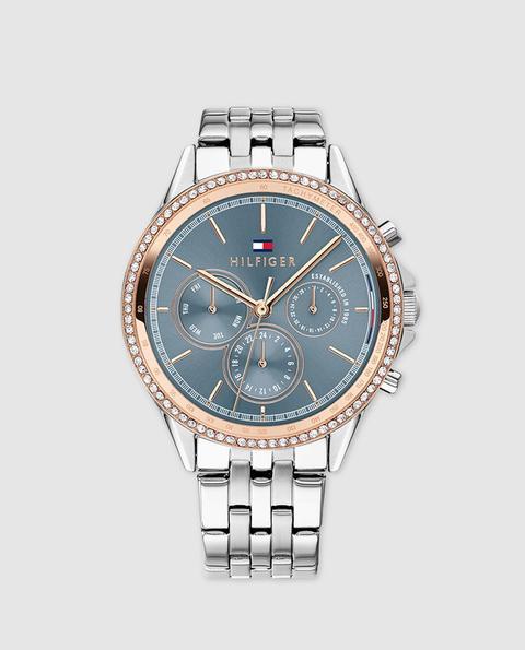 Tommy Hilfiger Reloj Mujer 1781976 Multifunción De Acero De El Corte Ingles En 21 Buttons