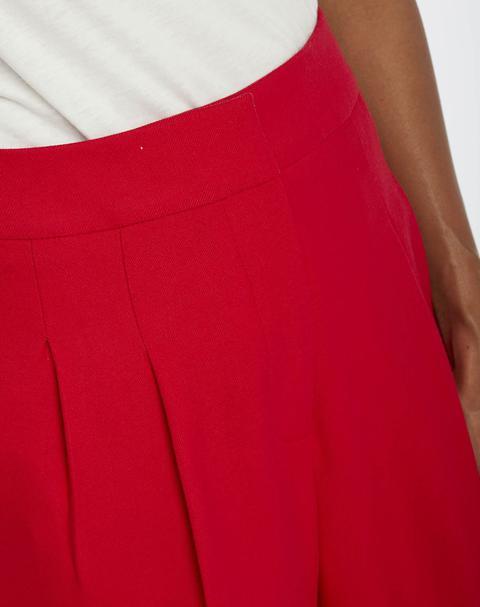 Pantalón Naf Naf Mujer De Vestir De Corte Recto Y Tiro Alto