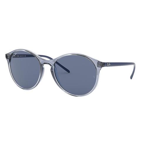Rb4371 Mujer Sunglasses Lentes: Azul, Montura: Azul de Ray-Ban en 21 Buttons