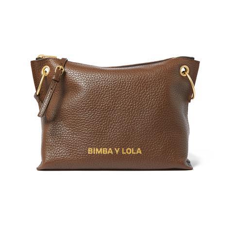 Bolso De Piel Bimba Y Lola ( Trapecio )