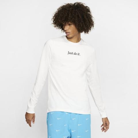 tee shirt nike blanc homme