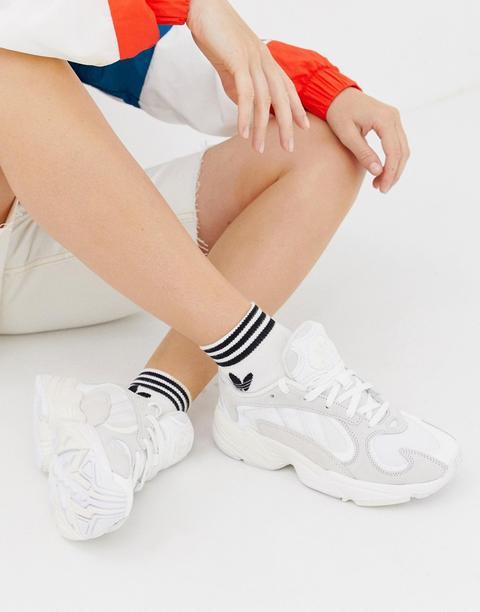 Zapatillas De Deporte En Color Hueso Yung'1 De Adidas Originals-blanco