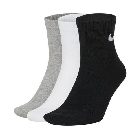 Nike Everyday Lightweight Calcetines De Entrenamiento Hasta El Tobillo (3 Pares) - Multicolor
