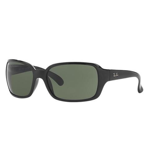 Rb4068 Mujer Sunglasses Lentes: Verde, Montura: Negro de Ray-Ban en 21 Buttons