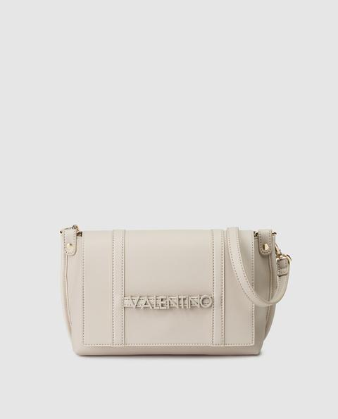 Valentino - Bandolera De Mujer En Blanco Roto Con Asa Extraíble de El Corte Ingles en 21 Buttons