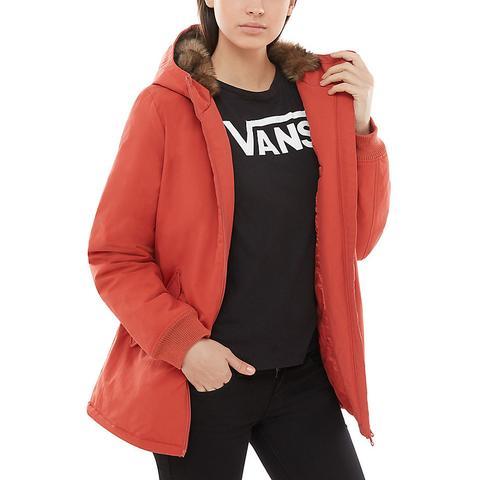 Vans Chaqueta Inferno (hot Sauce) Mujer Rojo de Vans en 21 Buttons