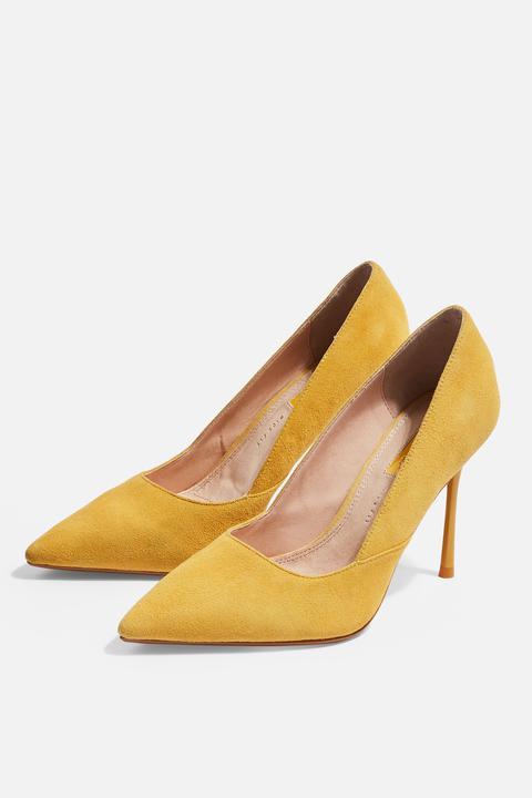 wide Fit Gigi Skinny Heel Court Shoes