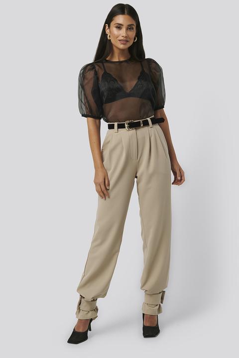 Closure Suit Pants