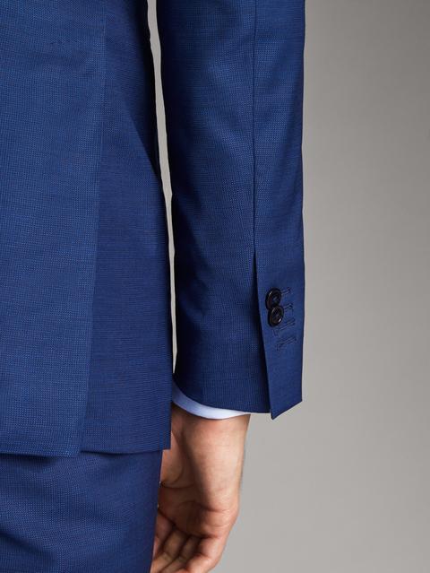 Americana Lana Estructura City Slim Fit Travel Suit de Massimo  Dutti en 21 Buttons