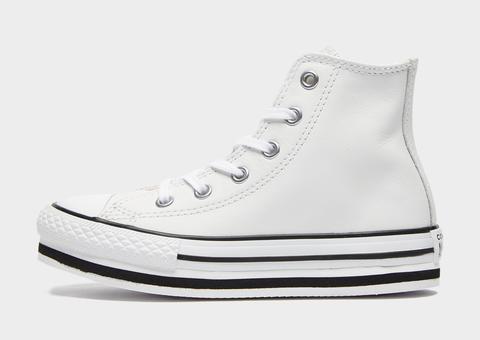 converse hi platform white