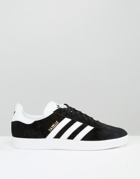 Adidas Originals - Gazelle Bb5476 - Sneakers Nere - Nero