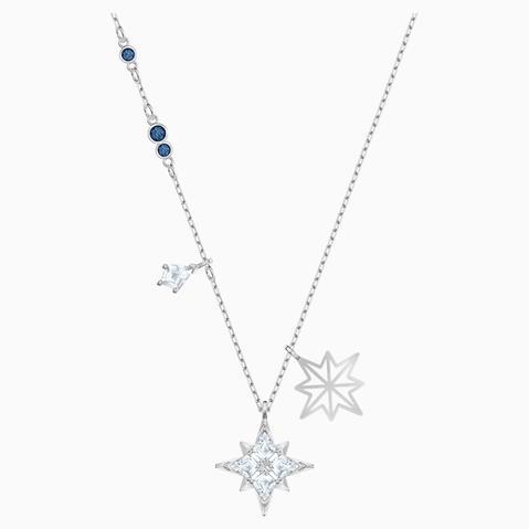 Colgante Swarovski Symbolic Star, Blanco, Baño De Rodio de Swarovski en 21 Buttons