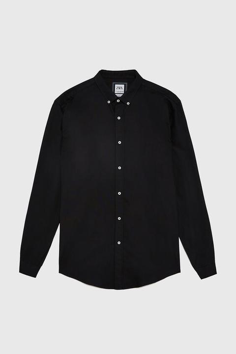 Camisa Estructura Oxford