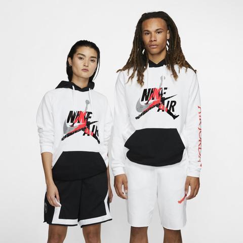 Jordan Jumpman Classics Sudadera Ligera De Tejido Fleece - Hombre - Blanco de Nike en 21 Buttons