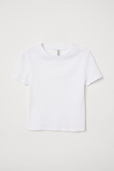Camiseta De Canalé - Blanco