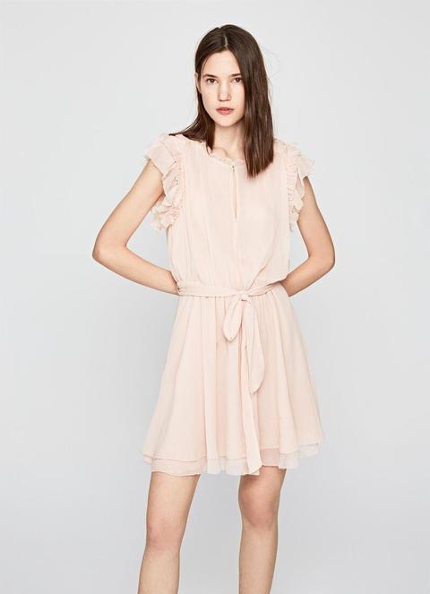 Mini Vestido Romántico Noa