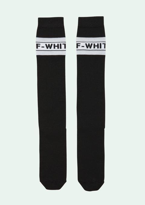 Black Industrial Socks de Off White en 21 Buttons