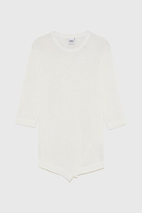 T-shirt Comoda Dal Design Strutturato
