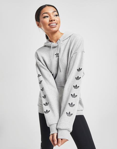 Adidas Originals Sudadera Con Capucha Repeat Trefoil - Only At Jd, Gris de Jd Sports en 21 Buttons