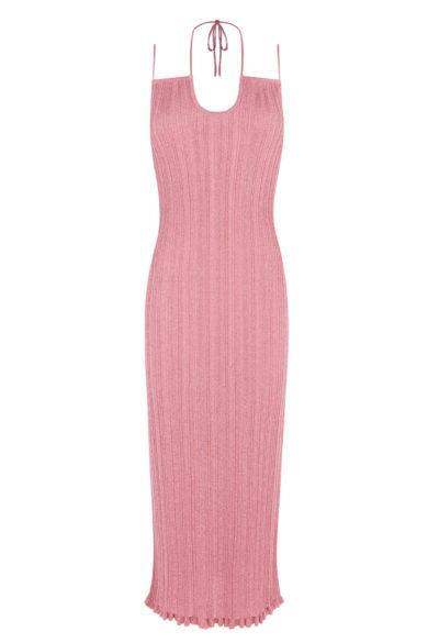 Vestido Pink Lurex de Mypeeptoeshop en 21 Buttons