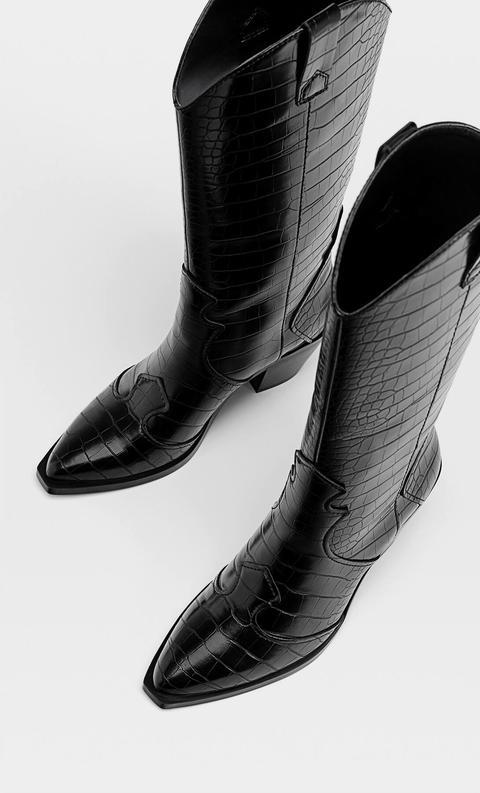 Botas Cowboy Grabado
