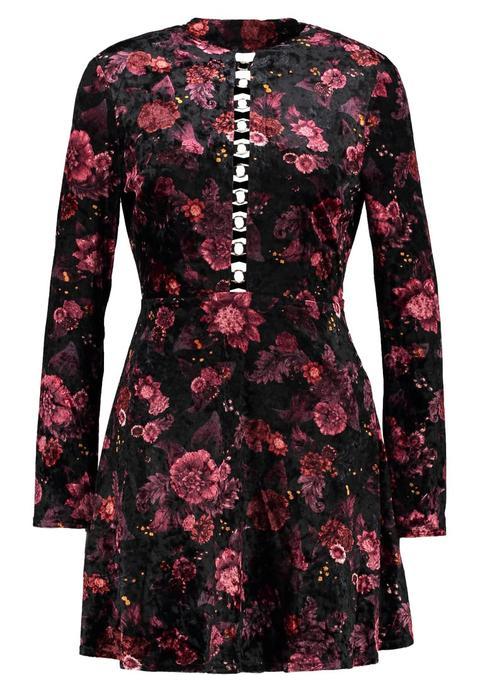 Topshop Ring Flower Vestido Ligero Multi de Zalando en 21 Buttons