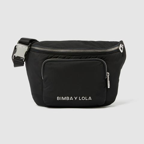 últimos diseños diversificados comprar baratas los mejores precios Riñonera Bolsillo Antracita from Bimba Y Lola on 21 Buttons