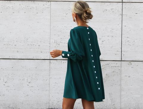 Vestido Licon Verde de An & Be en 21 Buttons