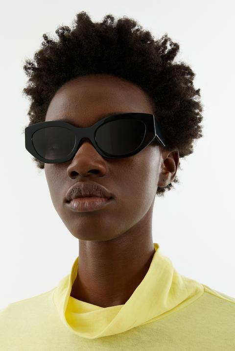 Gafas De Sol Ovaladas Negras de Bimba Y Lola en 21 Buttons