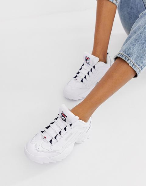 Fila - Disruptor 3 - Sneakers Bianche - Bianco de ASOS en 21 Buttons